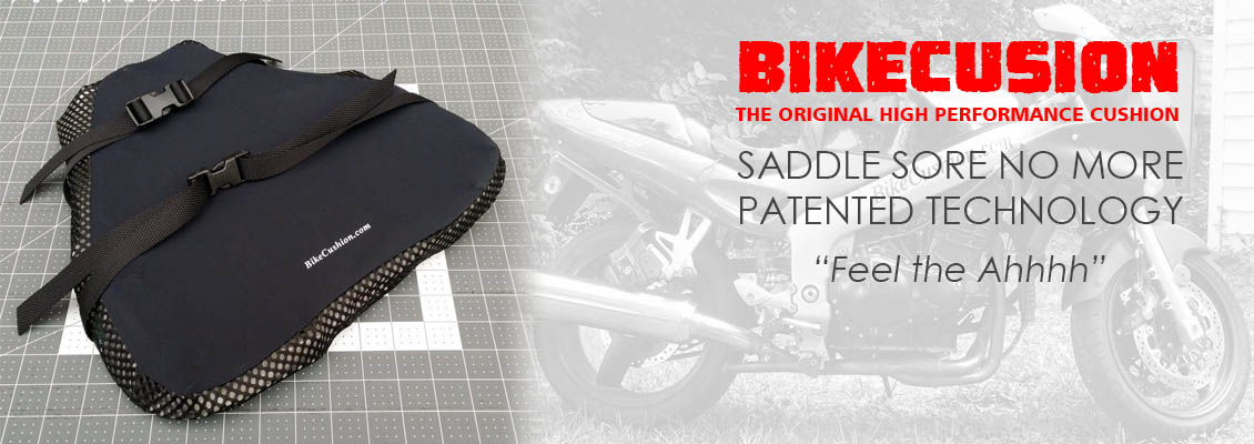 Motorcycle and Auto Cushion for Lower Back & Butt pain