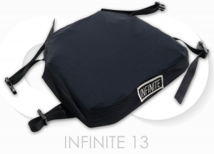 "INFINITE 13 Motorcycle Seat Cushion for 13"" 33 cm wide"